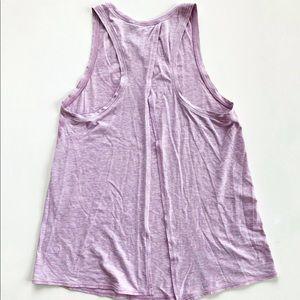 Lilac Lululemon Tie Back Tank